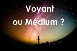 Voyant ou Médium